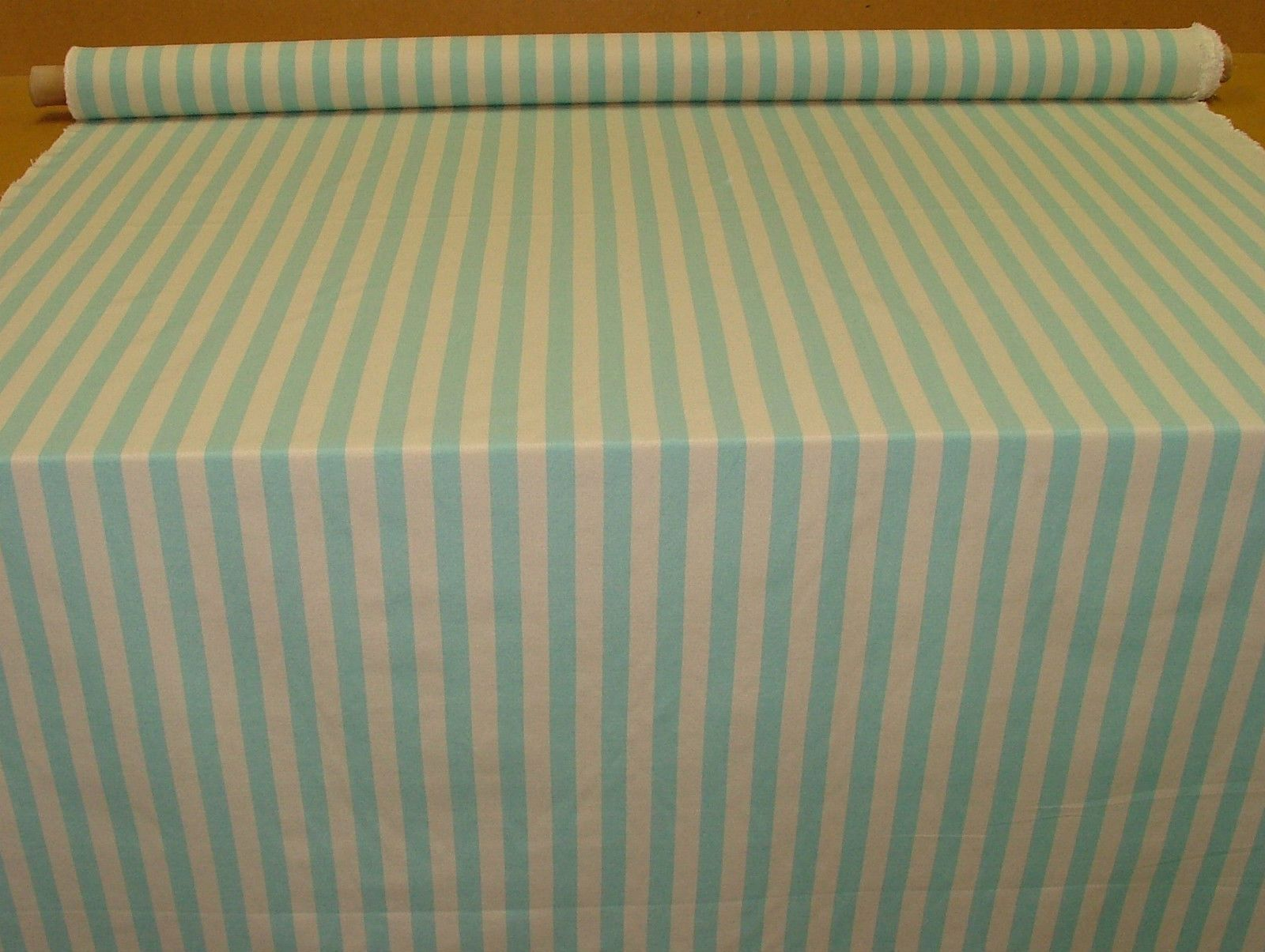 Prestigious Textiles Aqua Amp Calico Ticking Curtain
